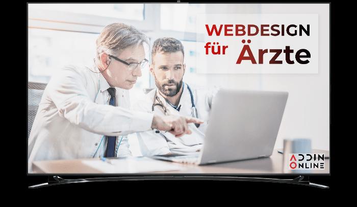 Webdesign für Ärzte, Therapeuten und Praxen