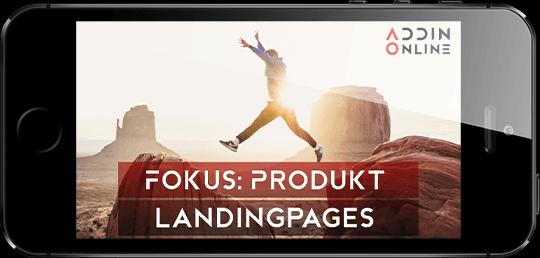 Webdesign für Landingpages
