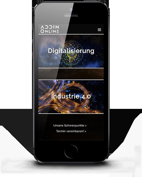 Mobile responsive Webdesign