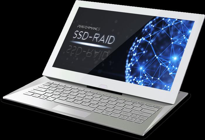 SSD Webhosting und performantes Webdesign